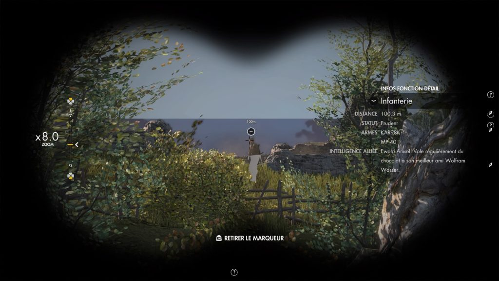 Sniper Elite 4 jumelle