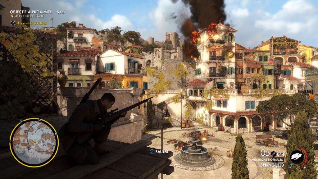 Sniper Elite 4 italie decor