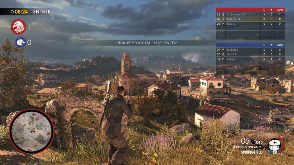 Sniper Elite 4 multijoueur