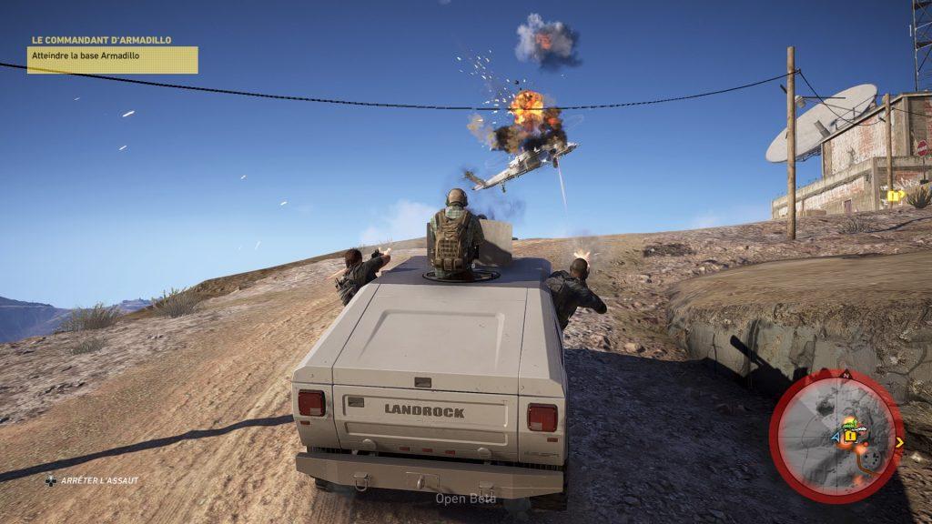 Tom Clancy's Ghost Recon Wildlands - shoot helico - ghost recon wildlands season pass