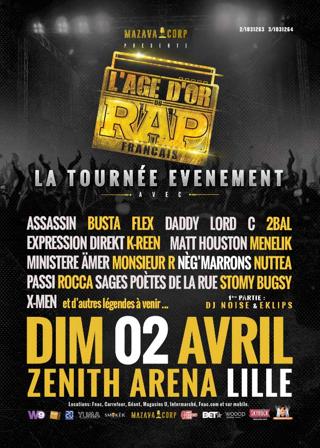 l'age d'or du rap français