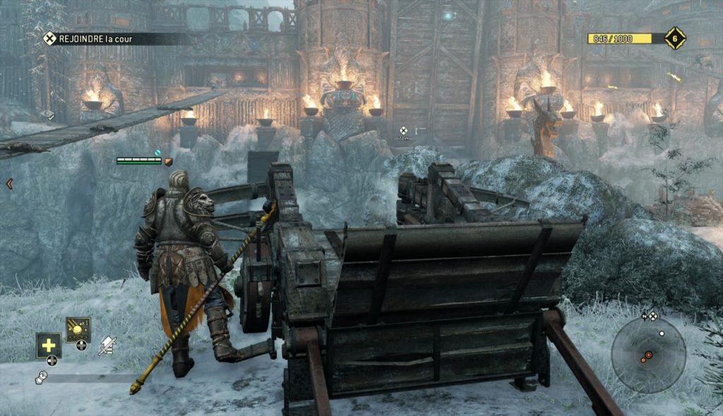 Les décors du jeux vidéo for honor sont bien modélisés