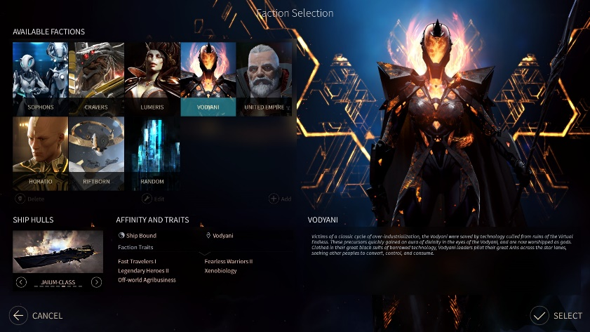 faction endless space 2