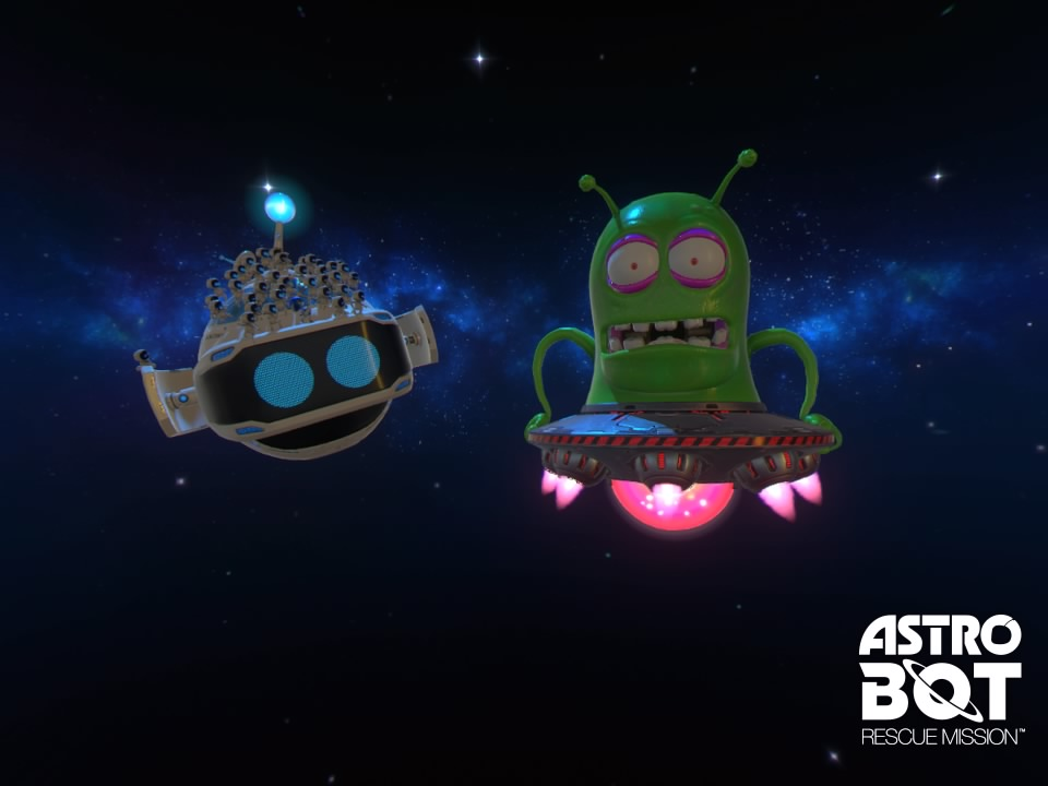 [TEST] ASTRO BOT Rescue Mission PS4 PSVR Playstation Sony 2