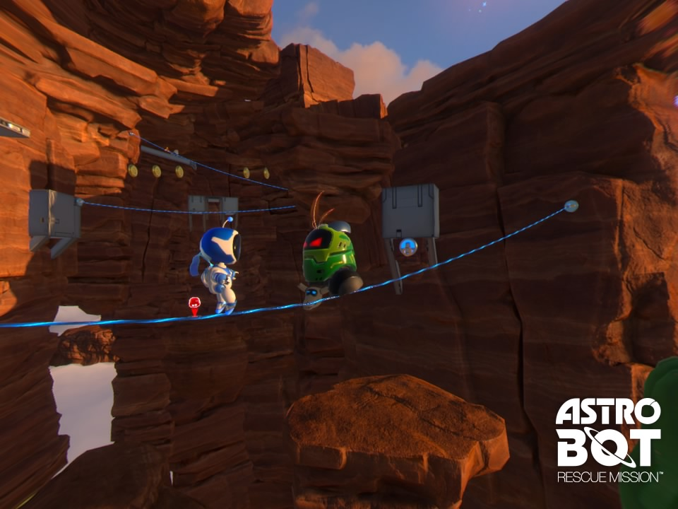 [TEST] ASTRO BOT Rescue Mission PS4 PSVR Playstation Sony 6