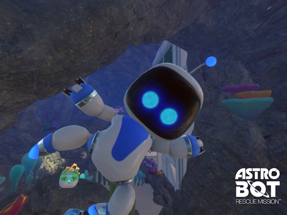 [TEST] ASTRO BOT Rescue Mission PS4 PSVR Playstation Sony