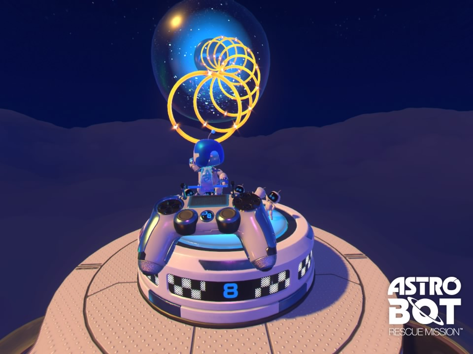 [TEST] ASTRO BOT Rescue Mission PS4 PSVR Playstation Sony 89